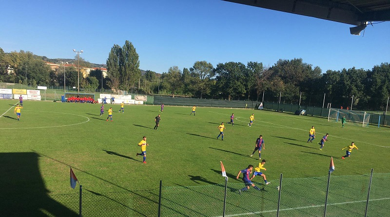 Contro la Civitanovese finisce 1-1: gol di Vegliò. Domenica il debutto coi Portuali Ancona